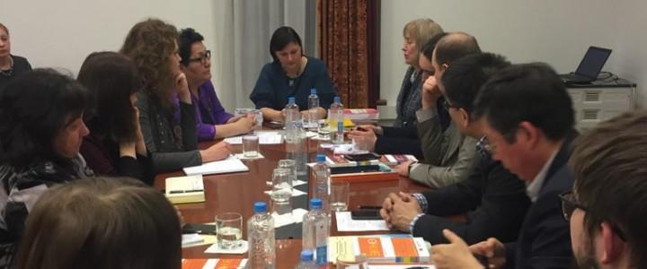 Представители МПГУ подготовили и провели круглый стол по вопросам интеграции детей из семей иноэтичных  мигрантов в Московском доме национальностей