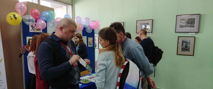 Преподаватели и студенты Института детства приняли участие в Дне открытых дверей МПГУ