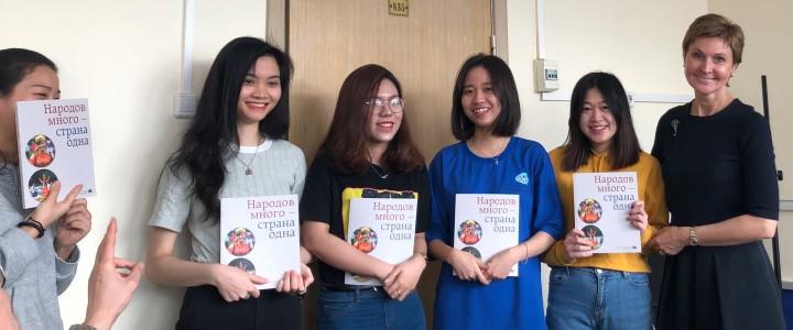 Подведены итоги участия иностранных студентов Института филологии в этноолимпиаде в ИСГО