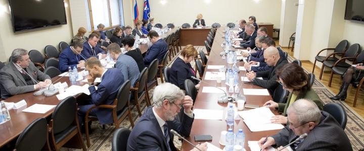 Ректор МПГУ принял участие в подготовке заседания Совета при Президенте РФ по реализации государственной политики в сфере защиты семьи и детей