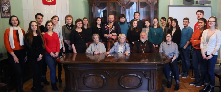 Медиакафе: встреча с Почётным профессором МПГУ отцом Георгием