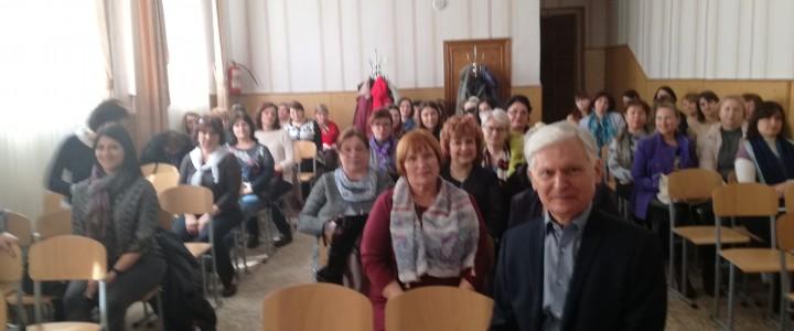 Владимир Алексеевич Смирнов провел семинары для учителей в Симферополе