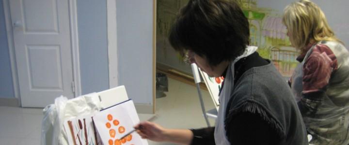 Открытие курсов повышения квалификации в Егорьевском филиале МПГУ по программе «Арт-терапия: работа с рисунком»
