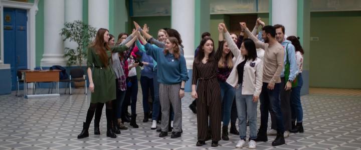 MPGU Buddy Club приветствовал новых иностранных стажеров