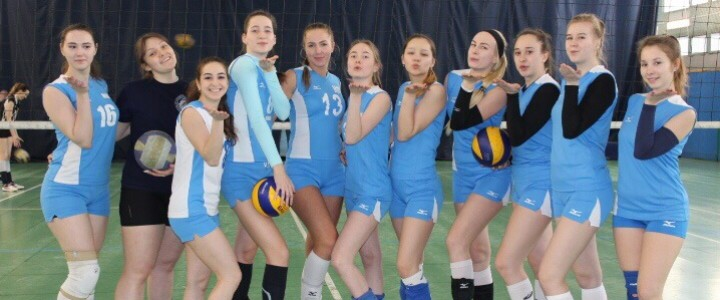 Победа женской сборной МПГУ по волейболу!