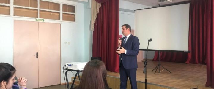 Встреча с председателем Всероссийского общественного движения «СТОПНАРКОТИК»