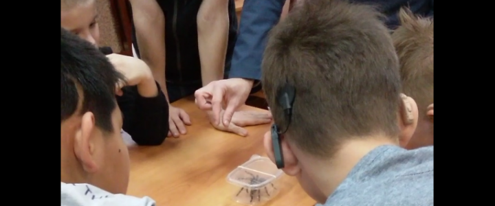 Интерактивное занятие в Сергиево-Посадском детском доме