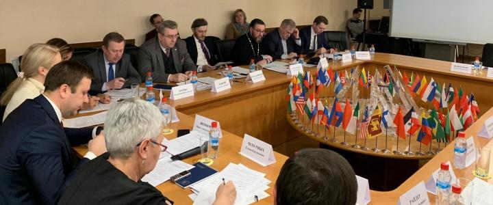 Ректор МПГУ принял участие в заседании экспертно-консультационного совета Россотрудничества
