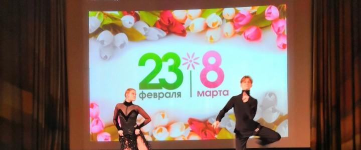 Праздничный концерт в честь 23 февраля и 8 марта!