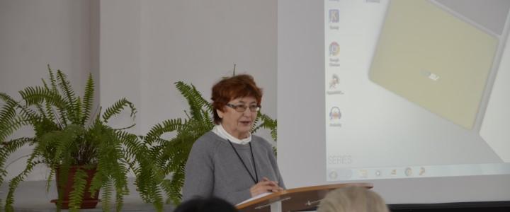 Преподаватель Покровского филиала МПГУ Замятина В.А. посетила МБОУ «Гимназия № 17» г. Петушки для участия в открытых уроках