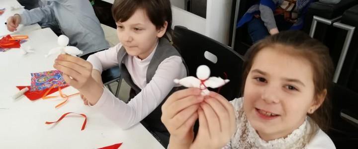 Мастер-класс для школьников в галерее «Выхино»