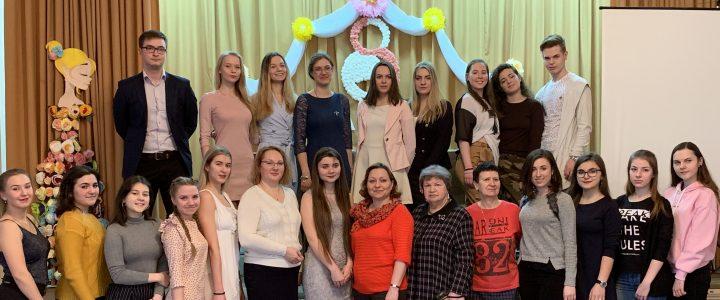 Праздничный концерт посвященный Международному женскому Дню 8 марта на Факультете дошкольной педагогики и психологии