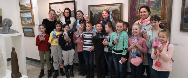 """Мастер-классы для детей с ОВЗ в выставочной галерее """"Выхино"""""""
