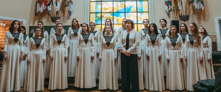 Студентки факультета музыкального искусства покорили «Герценовские хоровые ассамблеи»