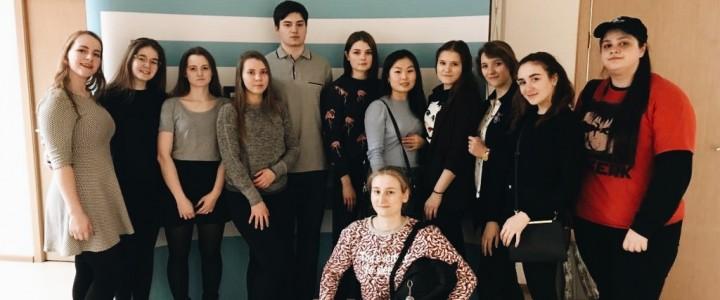 Студенты факультета педагогики и психологии МПГУ приняли участие в спектакле «Форум-театр» в Еврейском музее и центре толерантности