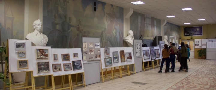 Выставка «Зимний пленэр -2019  в городе Коломне»