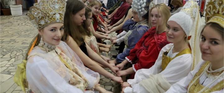 Старорусские традиции. Широкая масленица в МПГУ
