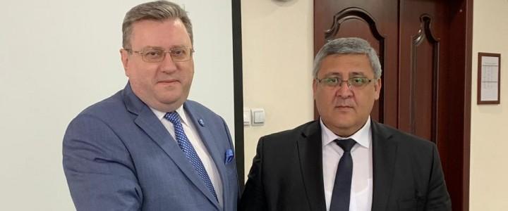 Ректор МПГУ встретился с министром образования Республики Узбекистан