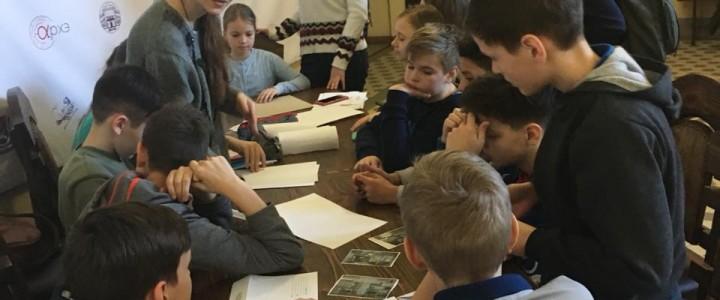 Прошли две экскурсии по корпусу ИФТИС для московских школьников и студентов МПГУ