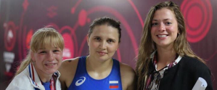 Поздравляем наших выпускниц с серебром на Чемпионате России!