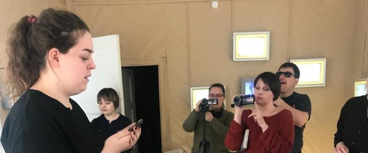 Учебный театр «Навстречу» Института детства: участие в финисаже выставки, посвященной Е.И. Замятину