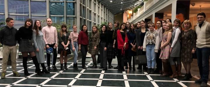 Студенты МПГУ на моноспектакле «Повести Белкина»