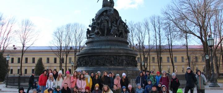 «Дороги Александра Невского» привели московских школьников в Великий Новгород