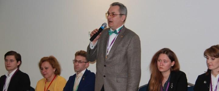 Преподаватели и студенты Института детства на Московском международном салоне образования