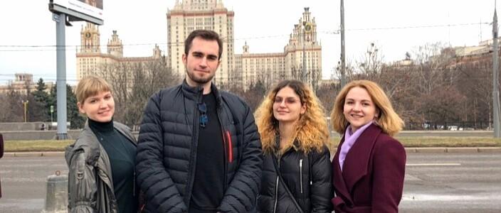 """Наши магистранты, аспиранты и преподаватели на конференции """"Ломоносов-2019"""""""