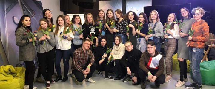 Студенты МПГУ создали ток-шоу на пятой образовательной неделе МАСТ