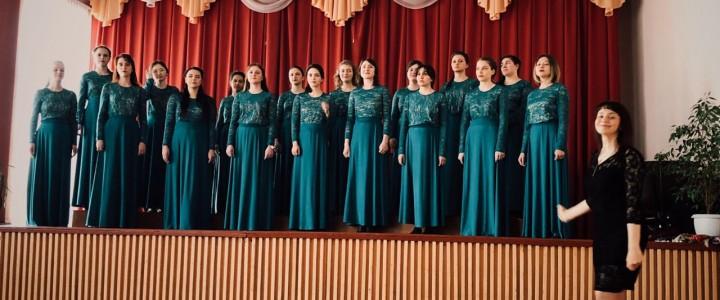 Женский хор IV курса МПГУ на гастролях в Беларуси