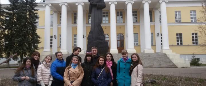 В музее Ф.М. Достоевского