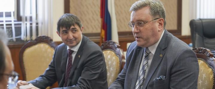 А.В. Лубков обсудил перспективы участия МПГУ в федеральном проекте «Без срока давности»