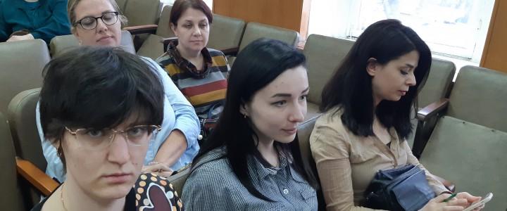 Аспиранты Института детства в Институте языкознания РАН