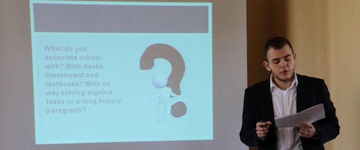 Cтуденческая конференция English Unites the World в Институте математики и информатики
