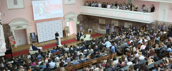 Режиссер Карен Шахназаров встретился со студентами МПГУ