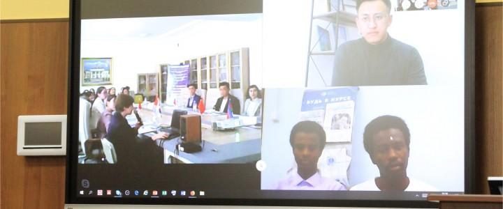 Международная филологическая онлайн-конференция «Язык и культура в XXI веке»: укрепляем сотрудничество между Казахским национальным педагогическим университетом имени Абая и Московским педагогическим государственным университетом