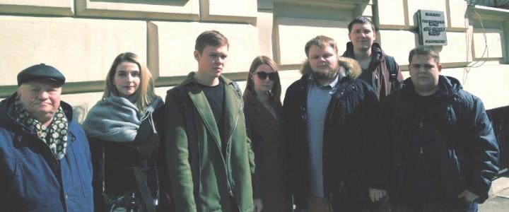 Cтуденты Института математики и информатики посетили экскурсию в квартире-музее С.А.Чаплыгина
