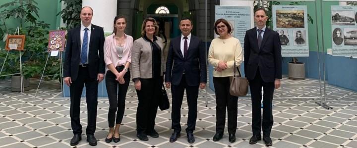 Делегация Эрджиесского университета в МПГУ