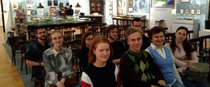 Студенты Института биологии и химии посетили «День открытых дверей» в Музее антропологии