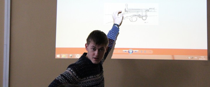 Студенты ИИиП узнали о винтовке Мосина