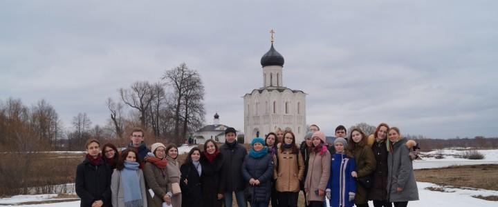 Студенты ИИиП МПГУ на экскурсии во Владимире