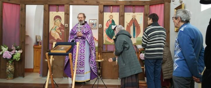 В храме в честь преподобного Сергия Радонежского при Покровском филиале МПГУ была совершена Божественная литургия