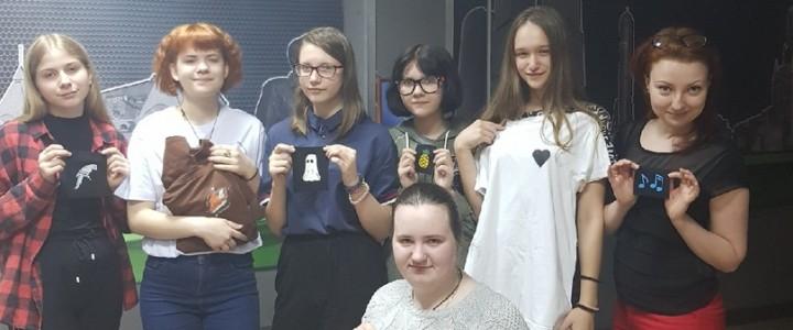 """Выездной мастер-класс по нашивкам СПО """"Зелёный свет"""""""