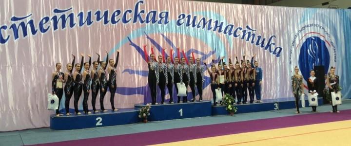 """Команда по эстетической гимнастике """"Мадонна"""" – победитель Чемпионата России!"""