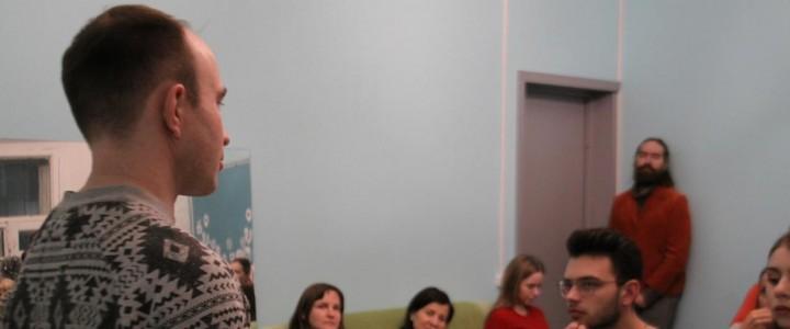 Руководитель мастерской МПГУ провел мастер-класс в Школе блогинга «Let's blog»