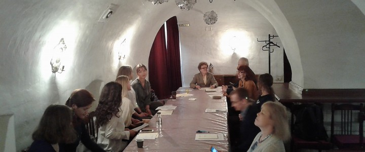 """Студенты Института филологии приняли участие в Научной конференции """"Студенты – А.С.Пушкину"""""""