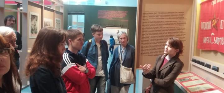 Стажировка в РГАСПИ для Экскурсионного бюро при Дирекции изучения истории МПГУ продолжается