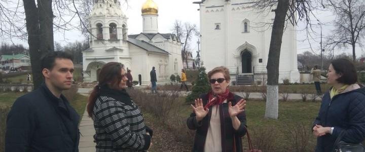 Студенты Сергиево-Посадского филиала на экскурсиях по краеведению