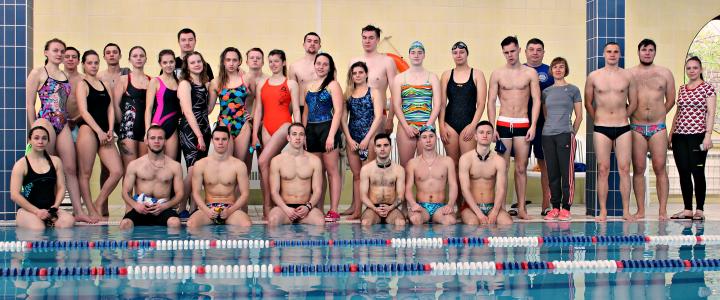 Соревнования по плаванию в рамках Спартакиады ИФКСиЗ
